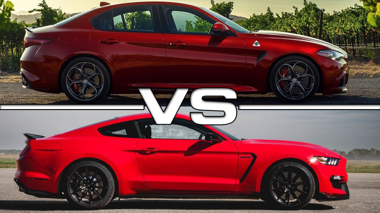 Alfa romeo giulia vs ford focus rs 16