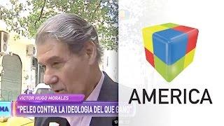 Víctor Hugo Morales respondió si se va del país