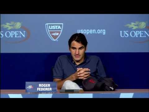 2011 US Open Press Conferences: Roger Federer (Fourth Round)