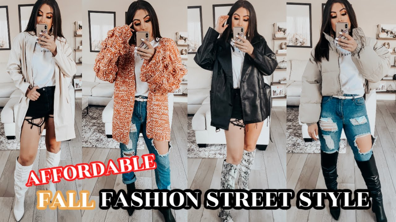 [VIDEO] - AFFORDABLE FALL FASHION Essentials & STREET STYLE Outfit IDEAS 2019 7