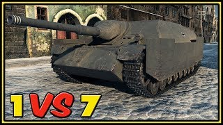 Jagdpanzer IV - 12 Kills - 1 VS 7 - World of Tanks Gameplay
