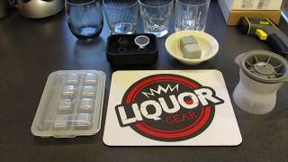 Review of Ice Cubes vs Whiskey Rocks vs Stainless Steel Cubes