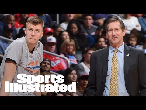 Porzingis Skipped Knicks Exit Interview Over Dispute With Hornacek | SI Wire | Sports Illustrated