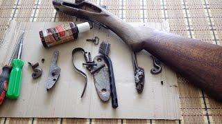 Реставрируем ружье, ТОЗ БМ, Часть 2, разобрал, почистил, вымыл, проверил тонированное масло