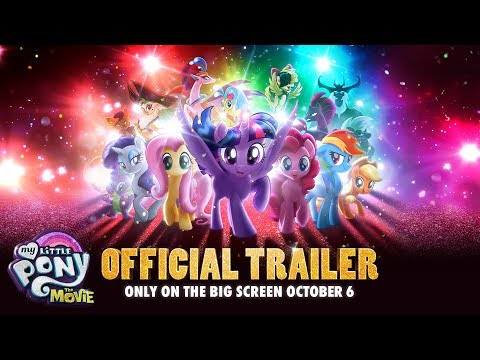 Plakat My Little Pony. Film