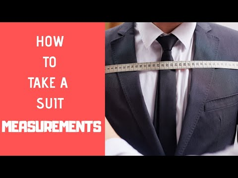 Download how to take a suit measurements