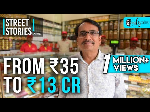 Street Stories - Ep 7 | From ₹35 To ₹13 Cr -Veeral Patel, Gaurav Sweets | Curly Tales