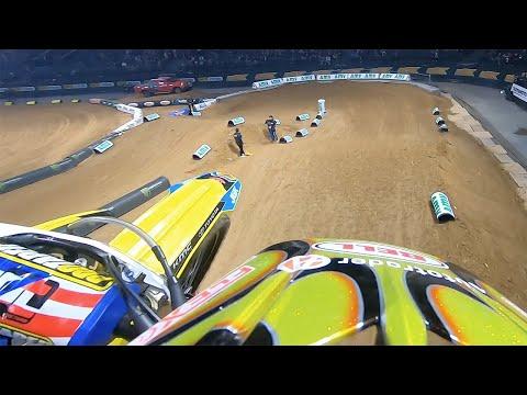 2018 Paris Supercross | GoPro Onboard Justin Hill
