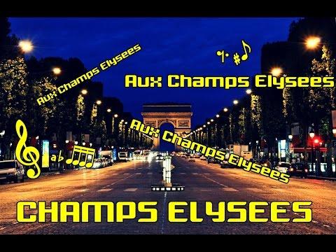 Karaoke _ Les Champs Élysées   Joe Dassin