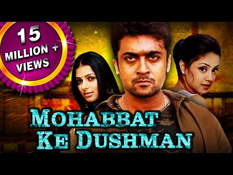 Mohabbat Ke Dushman (Sillunu Oru Kaadhal) Tamil Hindi Dubbed Full Movie | Suriya, Jyothika, Bhumika