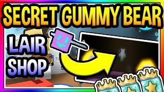 *SECRET* GUMMY BEAR LAIR IN Roblox Bee Swarm Simulator