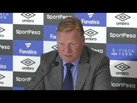 Wayne Rooney Press Conference at Goodison Park