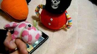 iphone ''ukulele san'' &baby de The Misfits(´∀`)アイフォンでミスフ...