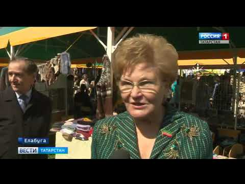 В Елабуге начала работу Спасская ярмарка. Что приготовили для гостей?