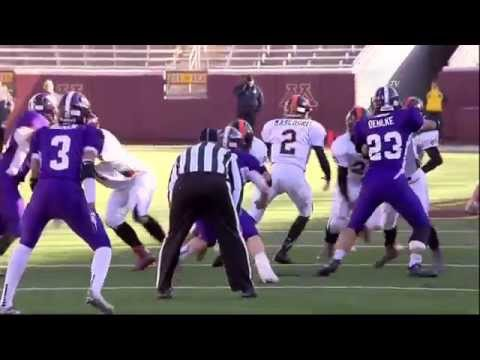 Prep Football: Underwood vs Grand Meadow, Prep Bowl (11/13/15)