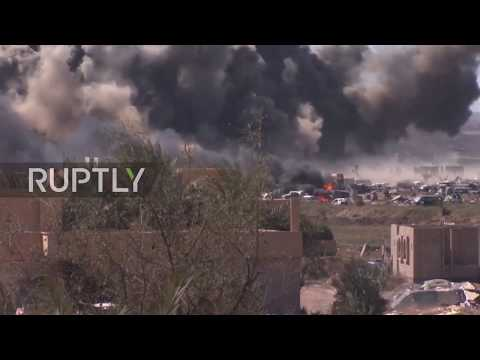 Syria: Fresh clashes erupt between SDF and IS militants near Baghouz