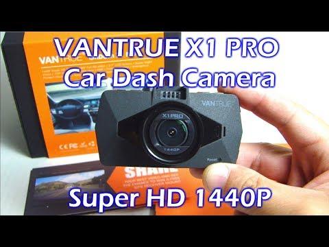 Vantrue X1 Pro Super HD 2.5K Car Dash Camera Review