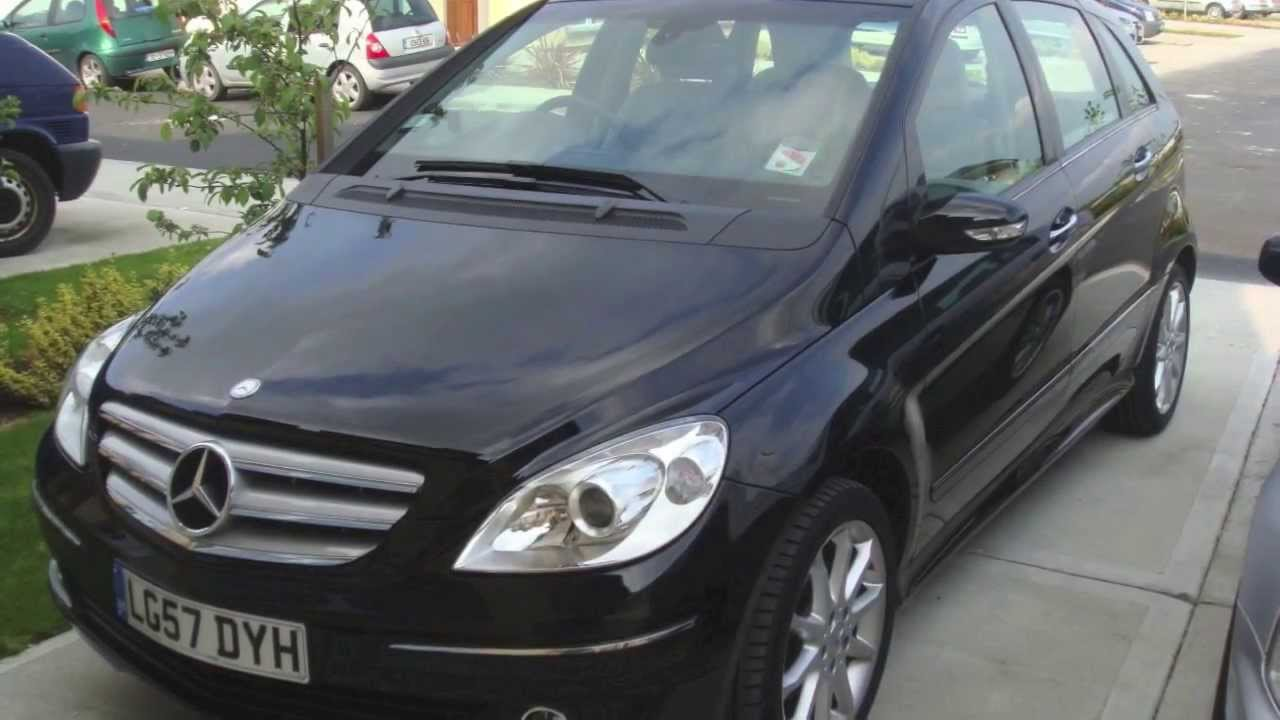 mercedes benz b170 a 2007 picvlog youtube. Black Bedroom Furniture Sets. Home Design Ideas