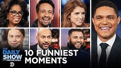 Top 10 Funniest Interview Moments of 2019 | The Daily Show