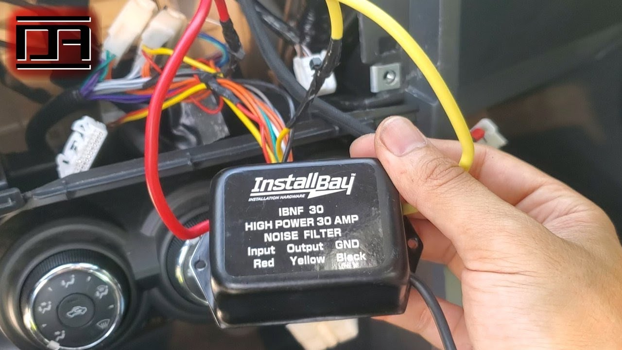 Stereo Head Unit Amp Alternator Whine Fix Power Wire Vs Ground Loop Scion Tc2 Tc2 5 Youtube