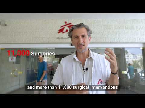 Interview with Marc Schakal, Head of Mission, MSF's Amman Reconstructive Surgery Hospital