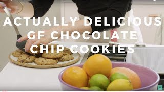 Actually Delicious Gluten-Free Chocolate Chip Cookies