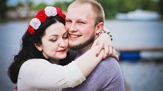 """Свадебный ролик Даши и Виталика. Свадьба в """"Галере"""" на Днепре."""