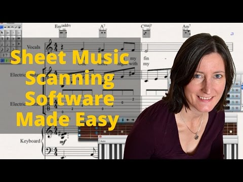 Import sheet music into midi