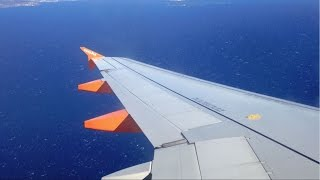 EasyJet Airbus A320-214 |London Luton to Nice |*Full Flight*