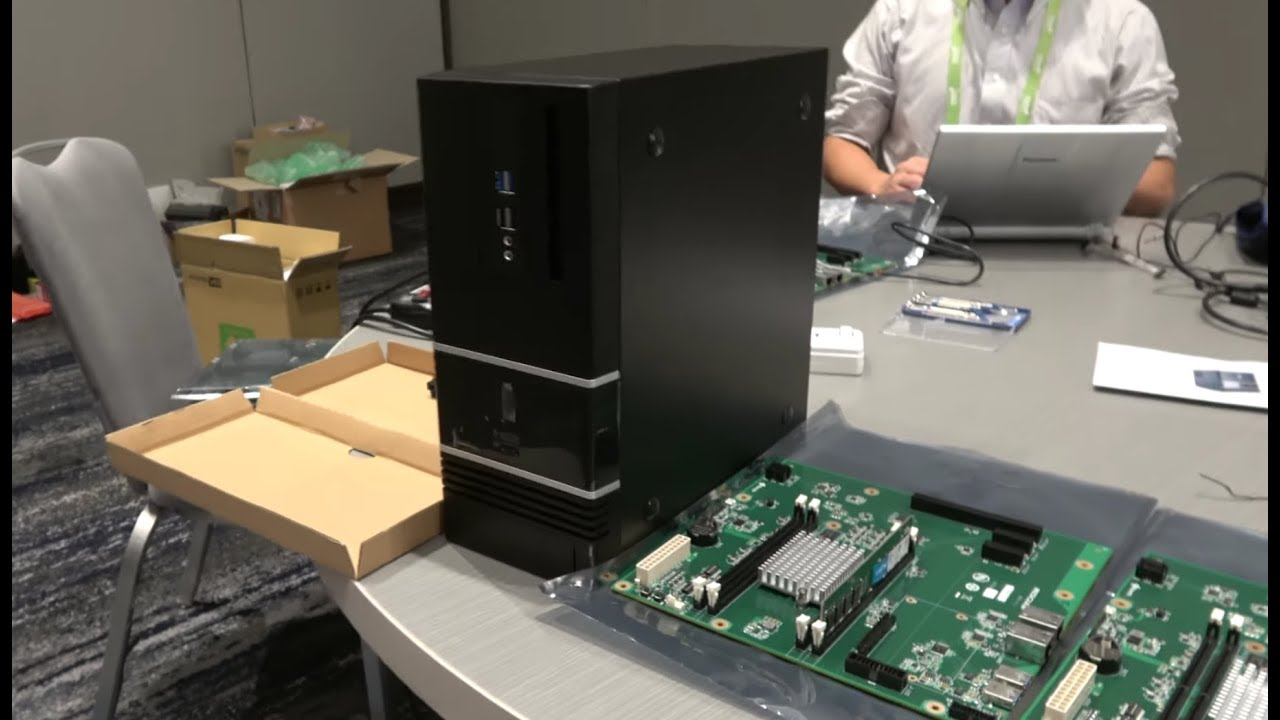 sub-$1000 Socionext 24-core ARM Desktop Developer Box