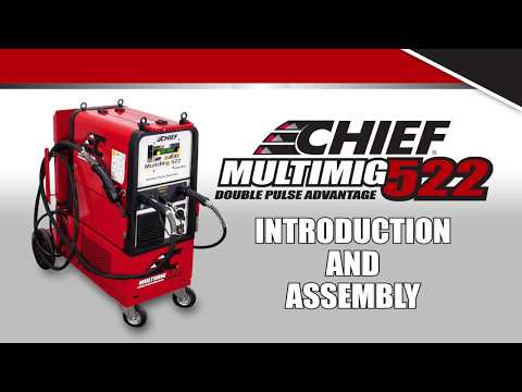 Chief MULTIMIG 522 Training: Intro and Assembly