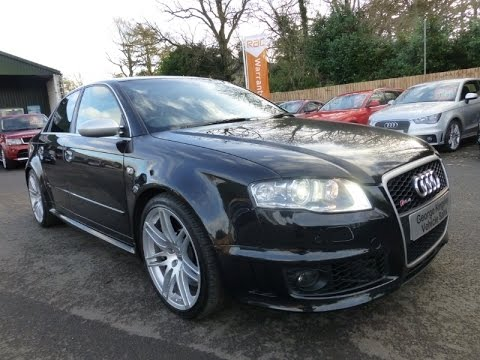 2007 RS4 Saloon for sale at George Kingsley Vehicle Sales, Colchester , Essex.