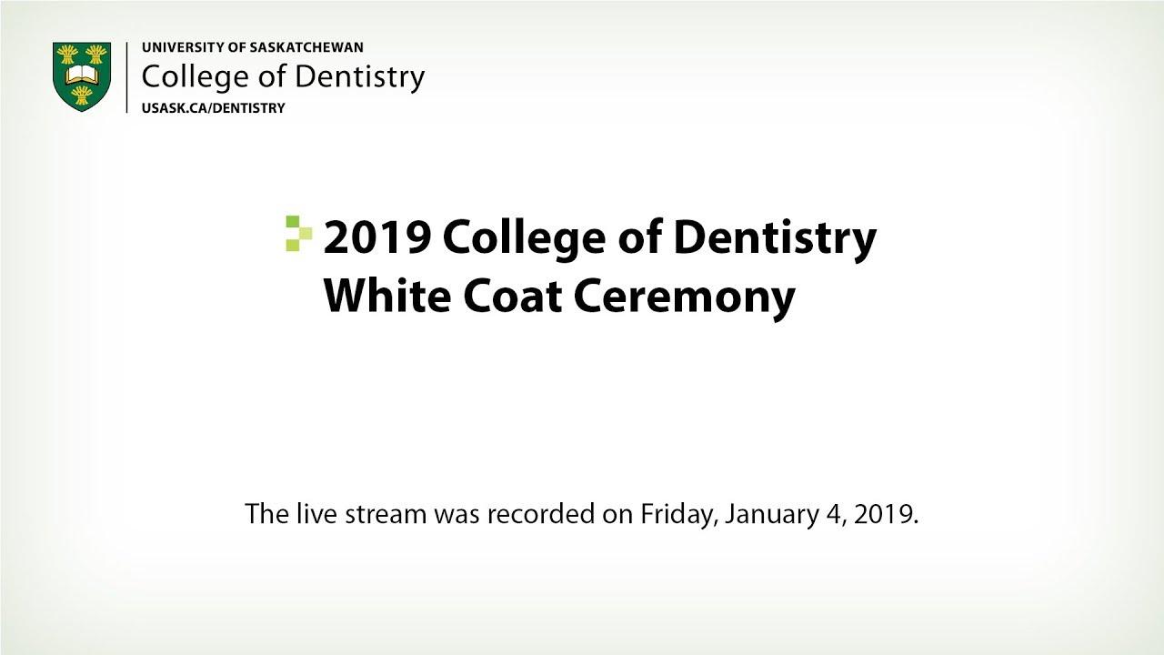 2019 College of Dentistry White Coat Ceremony