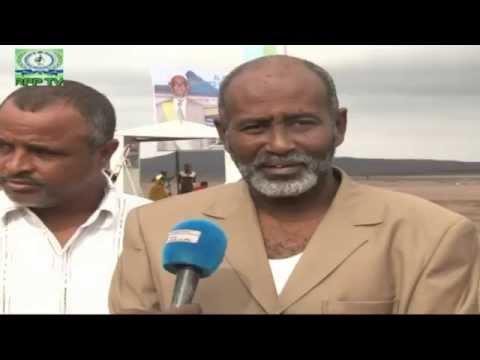 N°11 Interview de ADAN MOHAMED ABDOU lors de la Pose de la 1ère Pierre de l'Aéroport de Ahmed Dini à