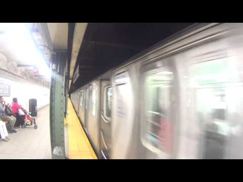 [HD] I.R.T Subway: R142 2 Train By Passing Eastern Parkway-Brooklyn Musuem