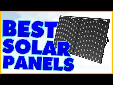 10 Best Solar Panel Reviews 2017