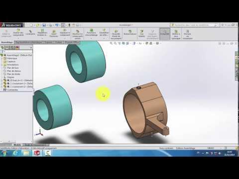 #15 Créer un Assemblage  et Insérer des Composants avec SolidWorks