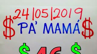NÚMEROS PARA HOY 24/05/19 DE MAYO PARA TODAS LAS LOTERÍAS..! Números reales 05 para hoy