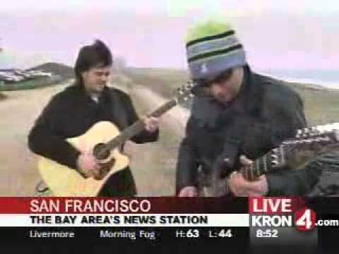 Joe Satriani - Starry Night Live in San Francisco beach for Kron 4 TV