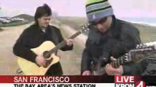 Joe Satriani Starry Night Live In San Francisco Beach For Kron 4 TV