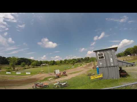 Phil Nicoletti and Aaron Lampi Tearing up Walden Mx