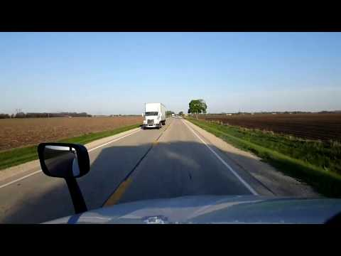 BigRigTravels LIVE! Minooka to Belvidere,  Illinois