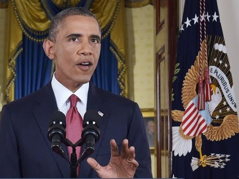 Obama Announces Air Strikes And Expand Effort Against Islamic State