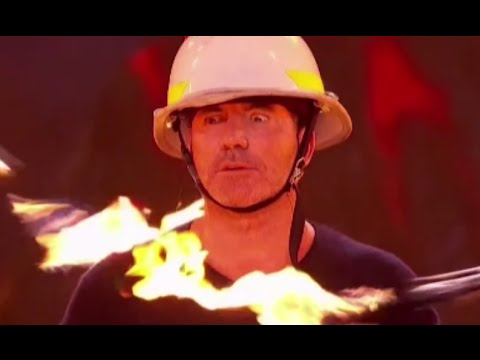 Passing Zone: Nearly BURN Simon Cowell On LIVE TV!! Semi-finals (FULL) | America's Got Talent 2016
