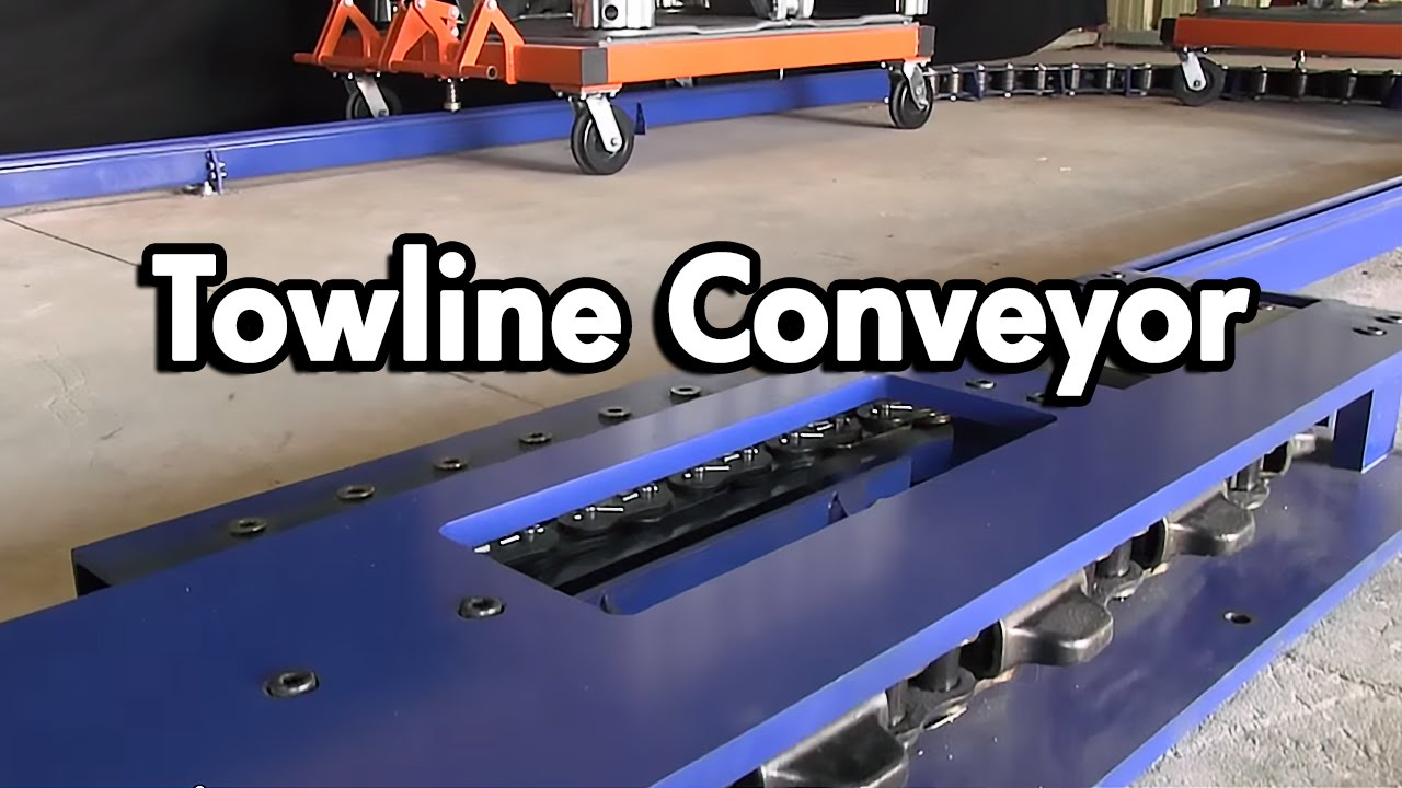 What Are Towline Conveyors Youtube