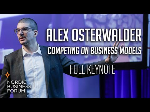 Alex Osterwalder - Competing on Business Models [FULL ...
