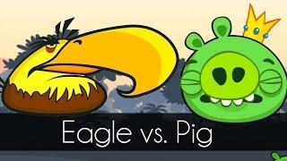 Bad Piggies - MIGHTY EAGLE vs. KING PIG (Field of Dreams)