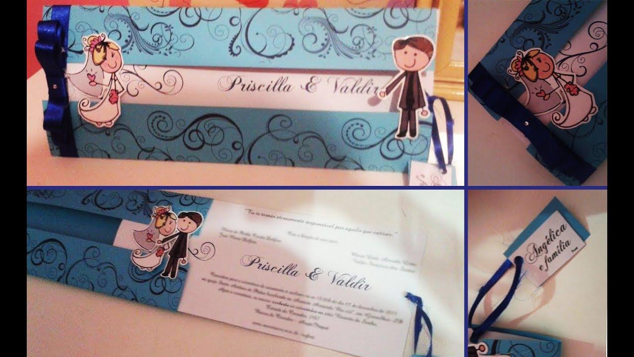 Diy convite de casamento encontro dos noivos parte 1 for Que se necesita para criar tilapias