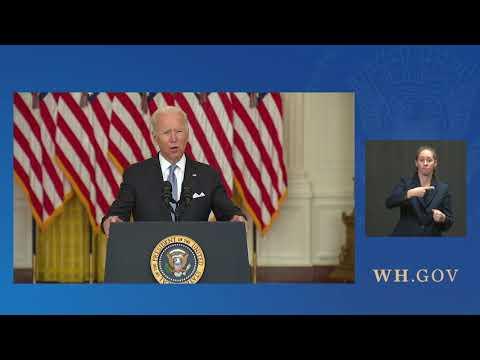 President Biden Delivers Remarks on Afghanistan