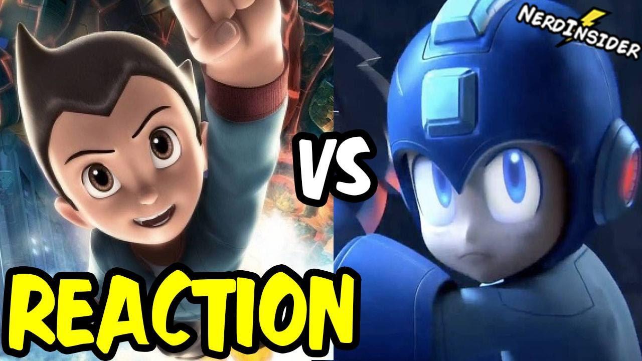 Download Mega Man VS Astro Boy DEATH BATTLE REACTION